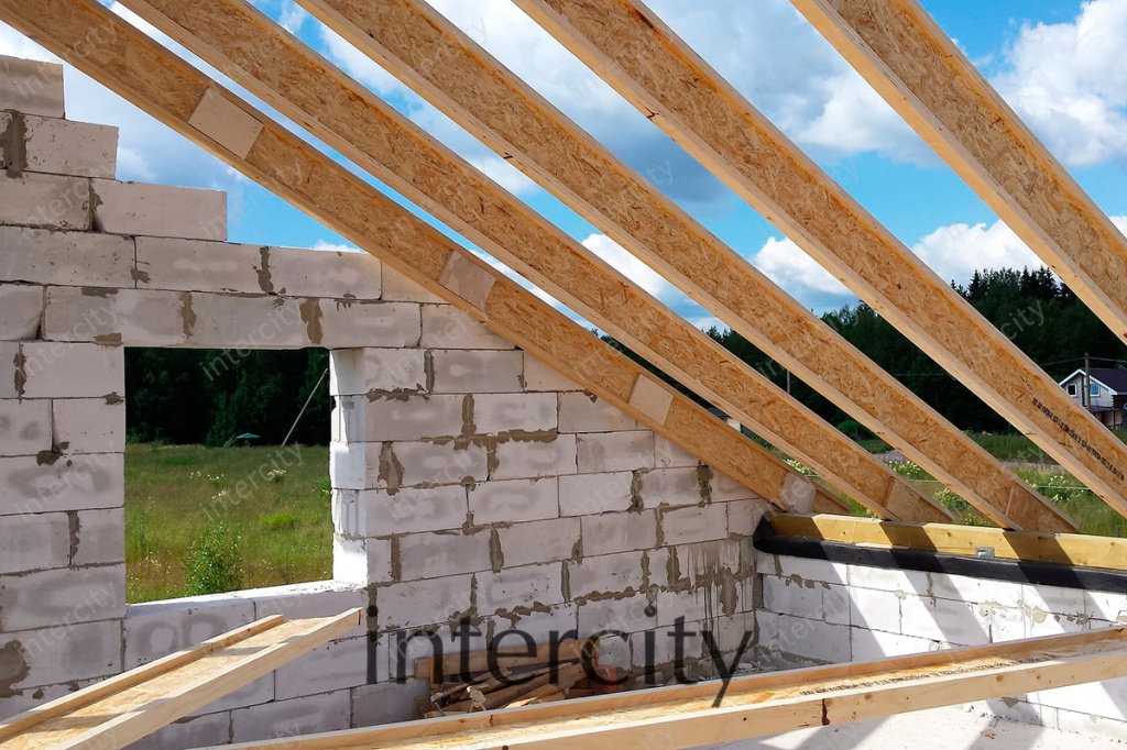 Как сделать крышу на дом 12-12