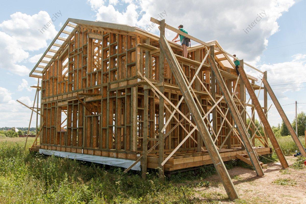 Стоимость работ по сборке каркасного дома